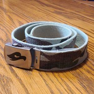 NWT Tony Hawk camouflage belt - camo